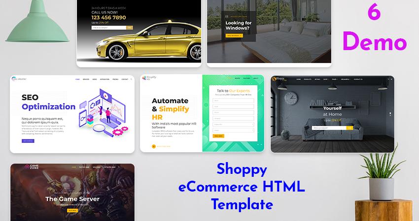 Responsive HTML5 Template | Multipurpose Html Template