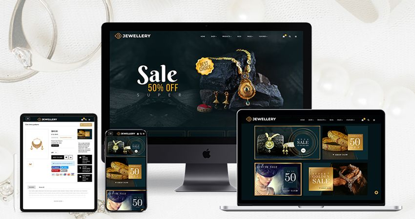 Jewelry Responsive Opencart Theme | OpenCart Templates