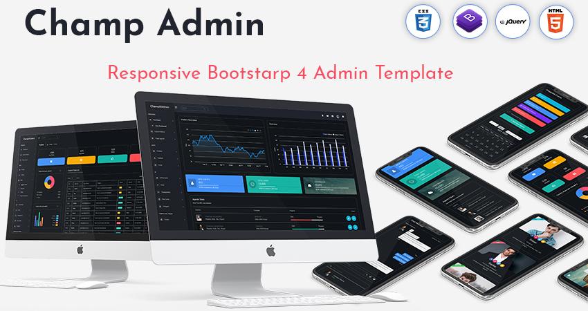 Bootstrap Admin Template | Premium Admin Template