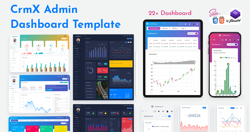 Bootstrap Admin Template | Responsive Bootstrap 4 Admin