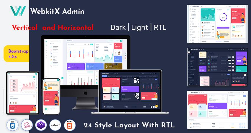 Bootstrap Admin Dashboard