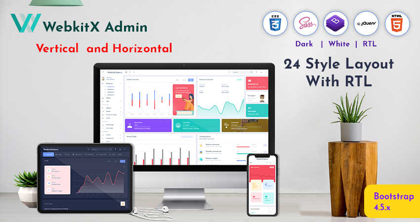 Admin Dashboard UI Kit