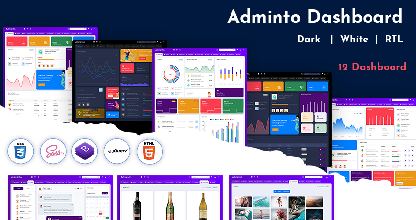 Admin Template