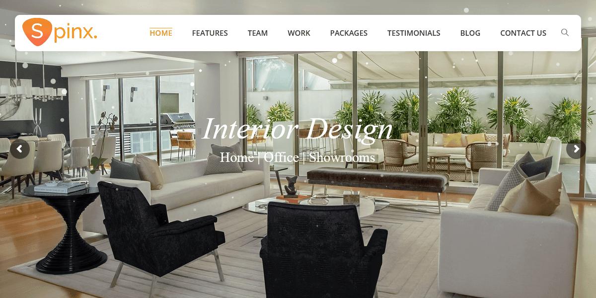 Interior Design Multipurpose Responsive HTML Template | HTML Template