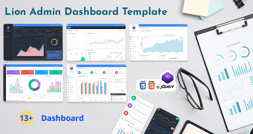 Bootstrap Web Application Template