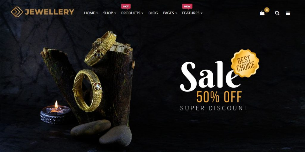 E-Commerce OpenCart Themes | Jewelry Responsive Opencart Theme