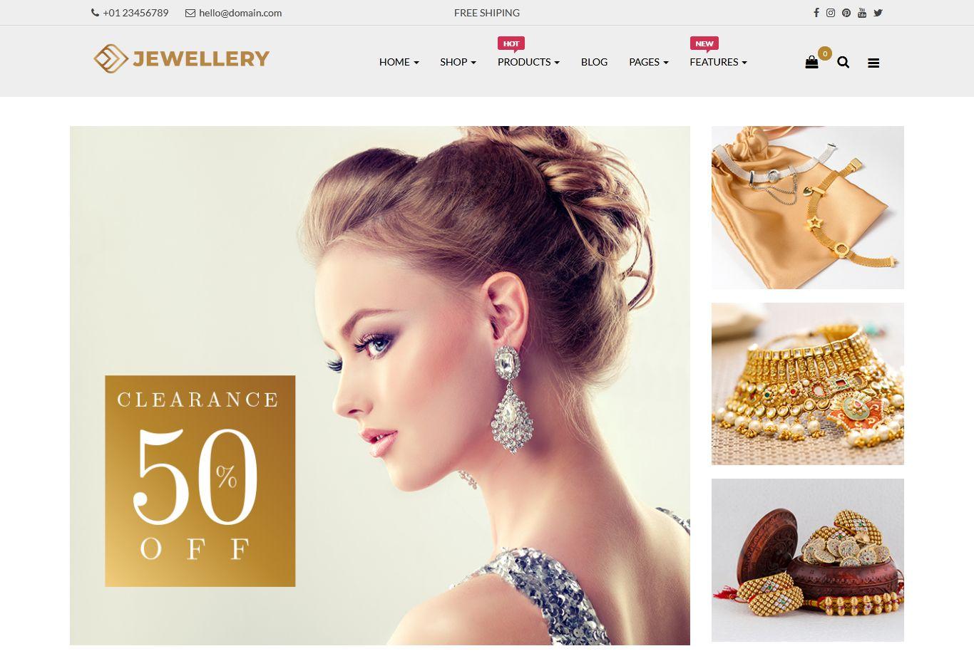 Fashion Store OpenCart Theme | Jewelry Responsive Opencart Theme