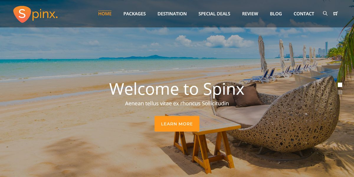 Travel One Page Parallax HTML Template | HTML Templates
