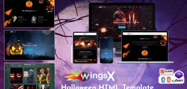Halloween HTML Template