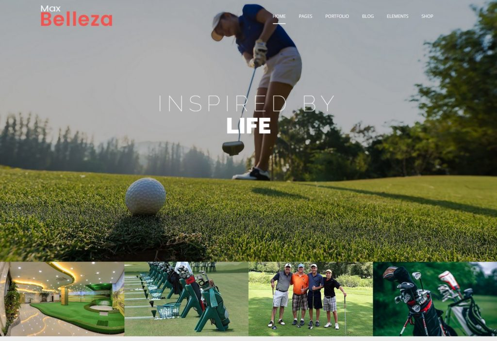Golf WordPress Thems