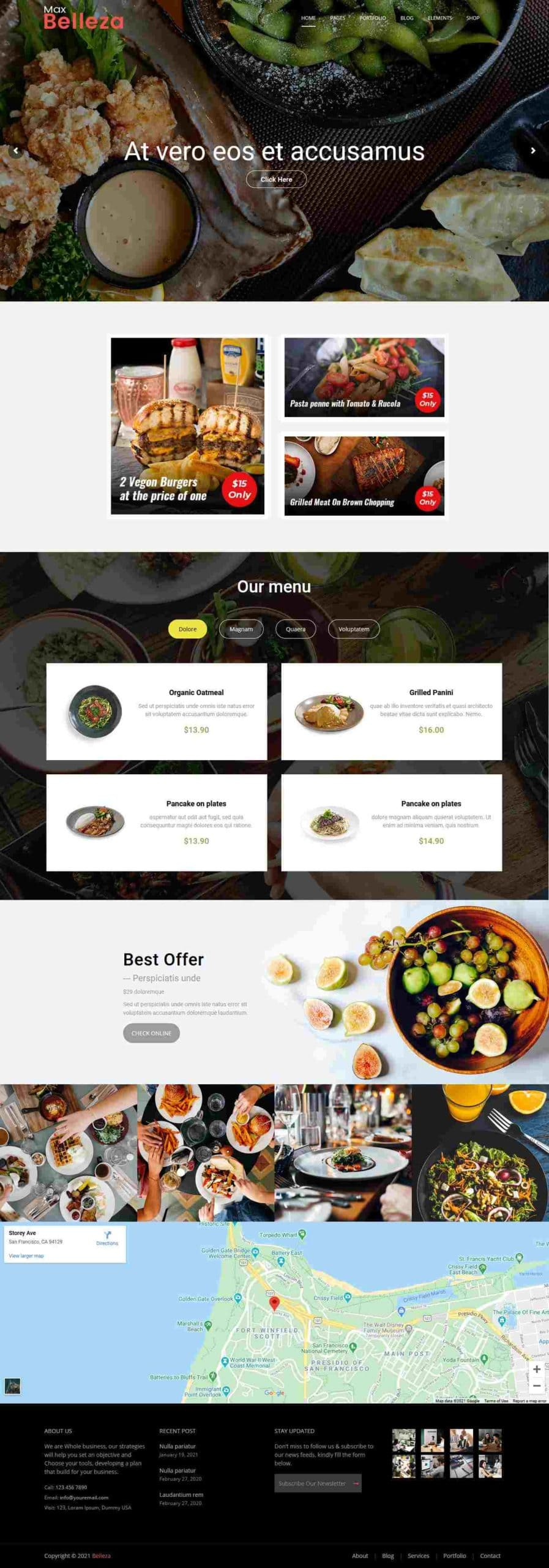 best delicious food website