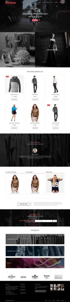 cosmetic store WordPress