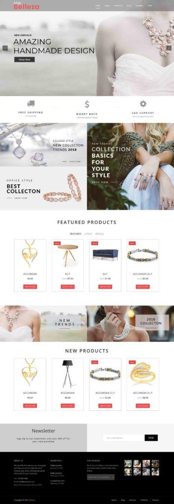 jewelry store WordPress