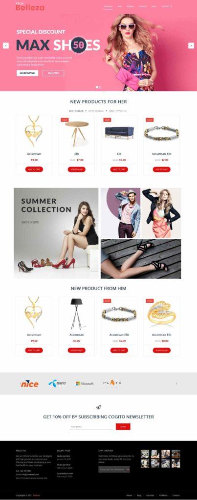 max shop WordPress theme