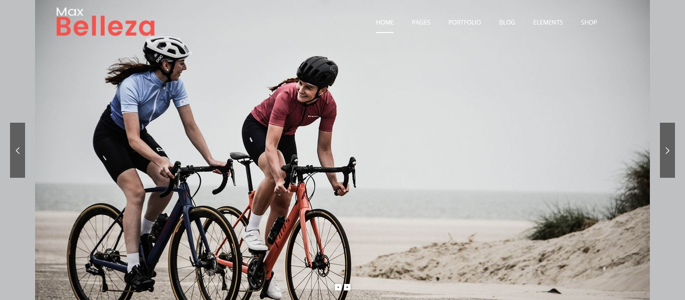 sport cycling WordPress Thems