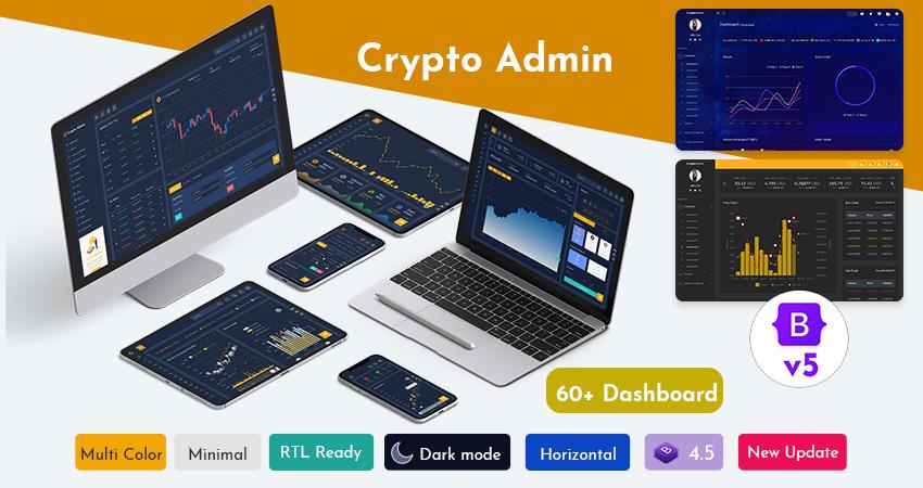 Crypto Tokenize Admin Template
