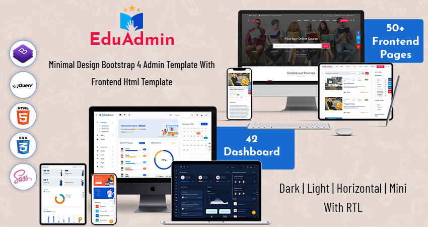 Responsive Bootstrap 5 Admin