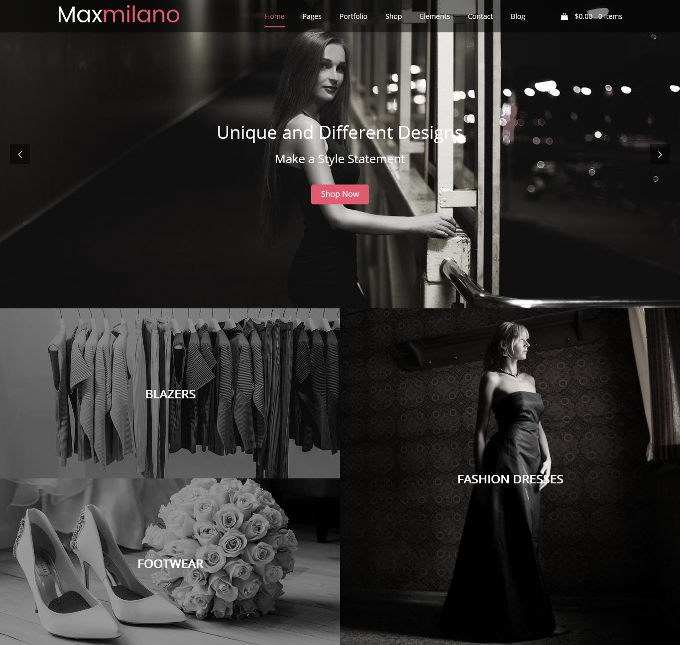 Fashion WordPress Theme Chicago