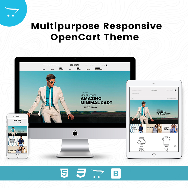 Multipurpose Responsive OpenCart Theme