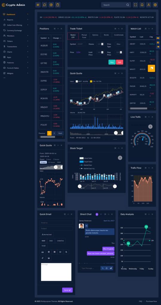 Crypto Dashboard