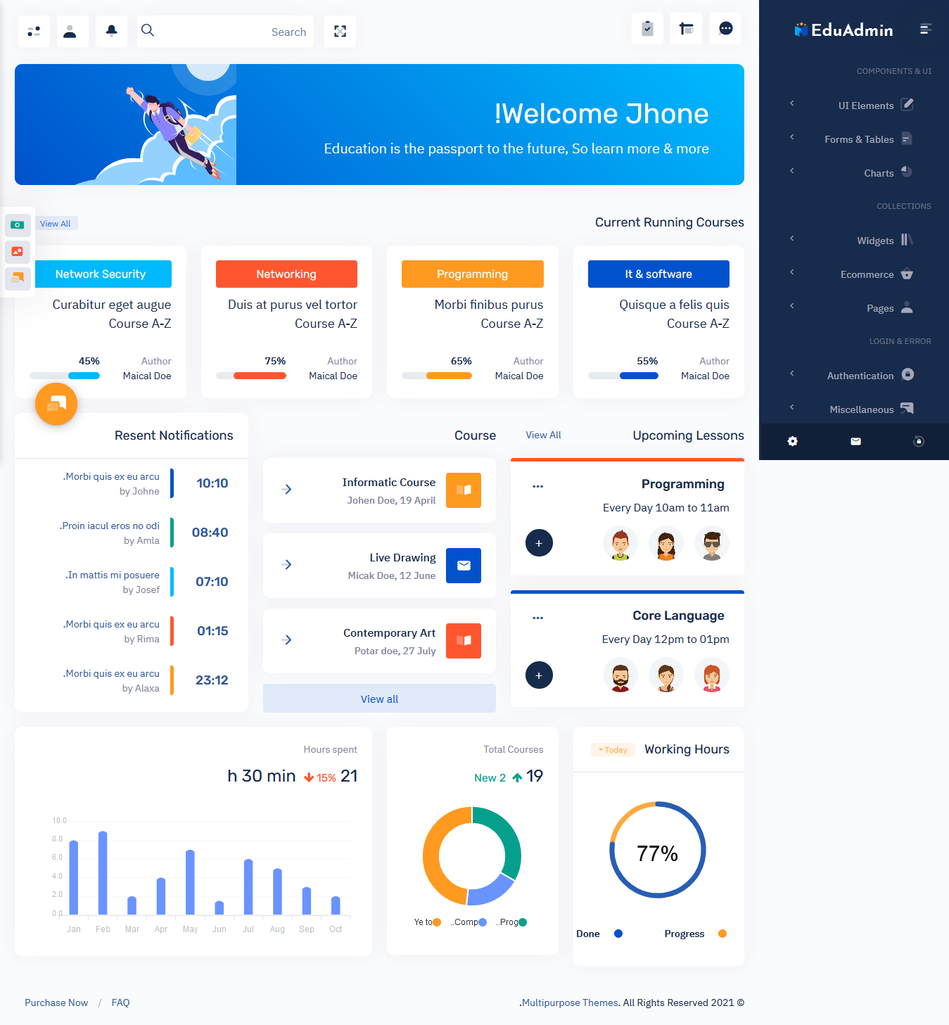Responsive Web Application Kit