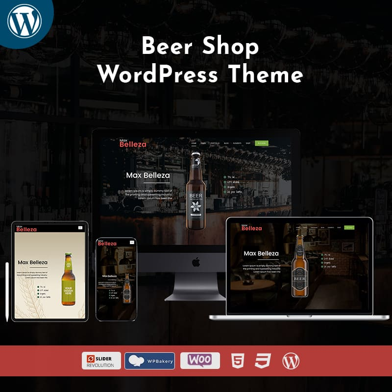 Bear Shop Responsive WordPress Themes