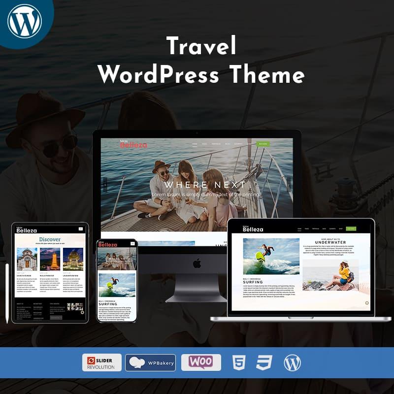 Travel Business WordPress Theme