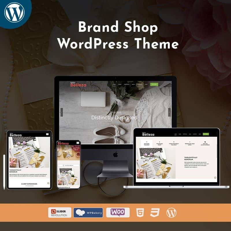Business Brand Premium Responsive WordPress Theme