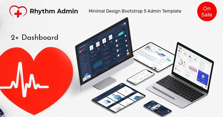 Responsive Admin Dashboard