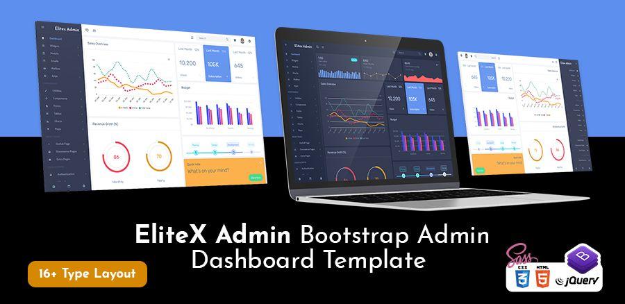 EliteX-Bootstrap 4 Admin Templates