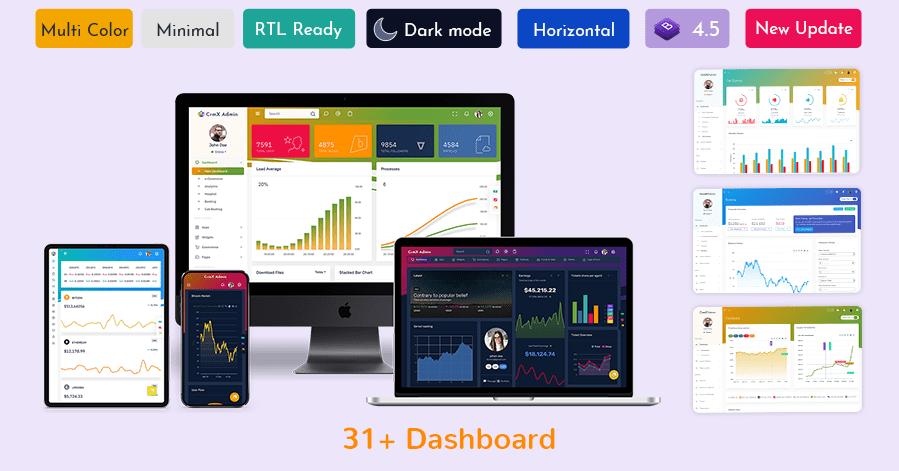 CRM Platform Dashboard