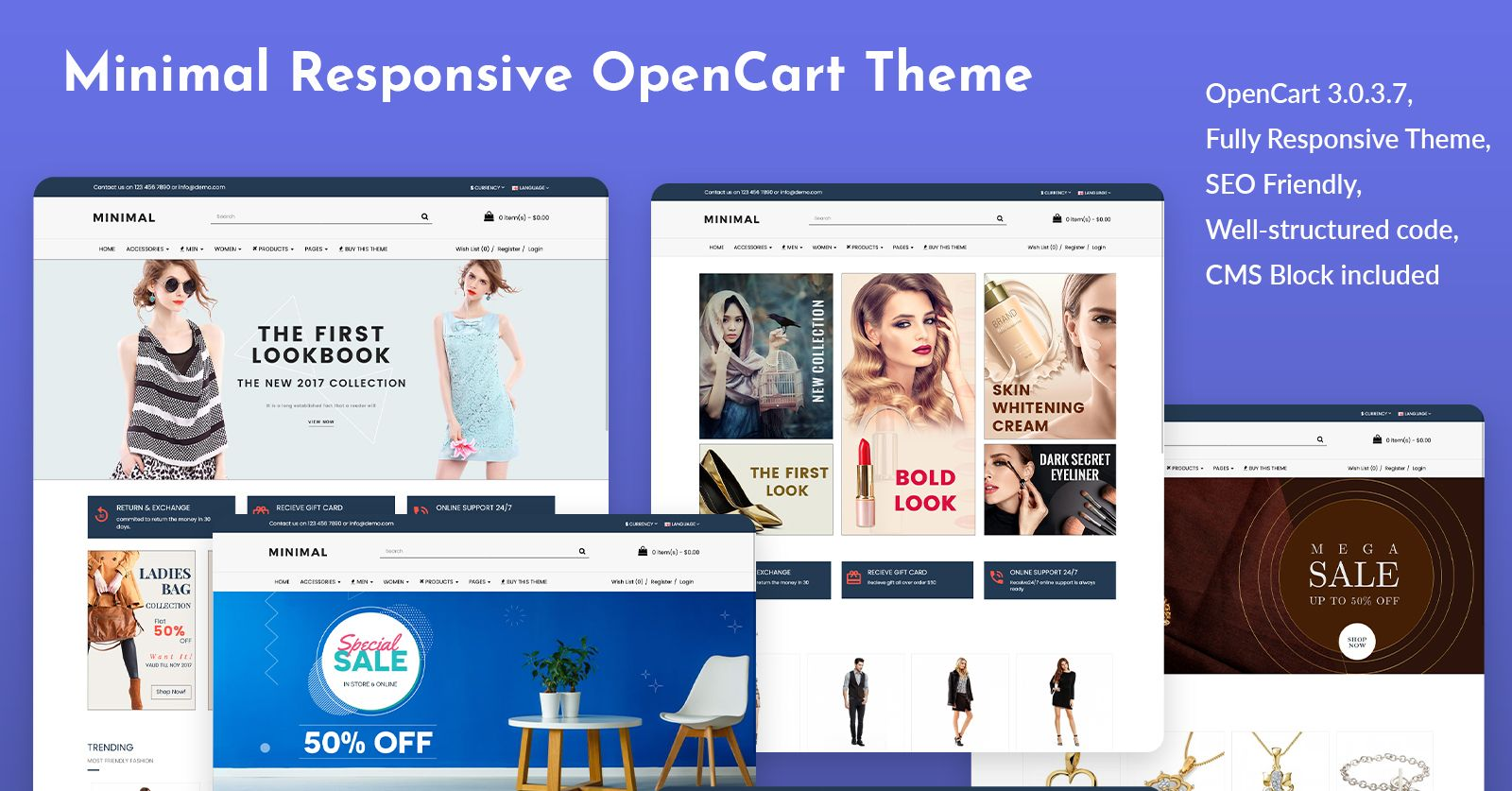 Fashion Store OpenCart Theme