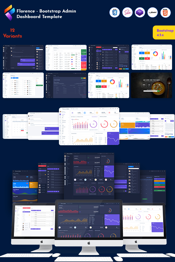 Florence Bootstrap 5 Admin Dashboard Template