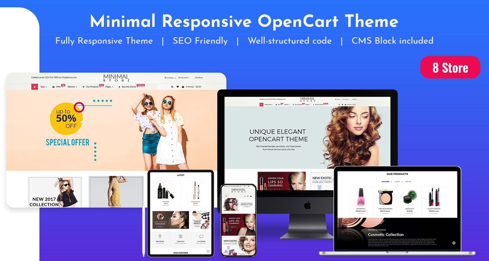 E-Commerce OpenCart Themes