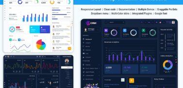 Bootstrap 5 Admin Dashboard
